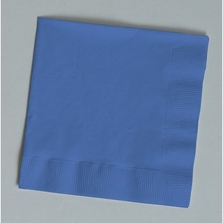 Touch of Color 150 Count Luncheon Napkins True Blue