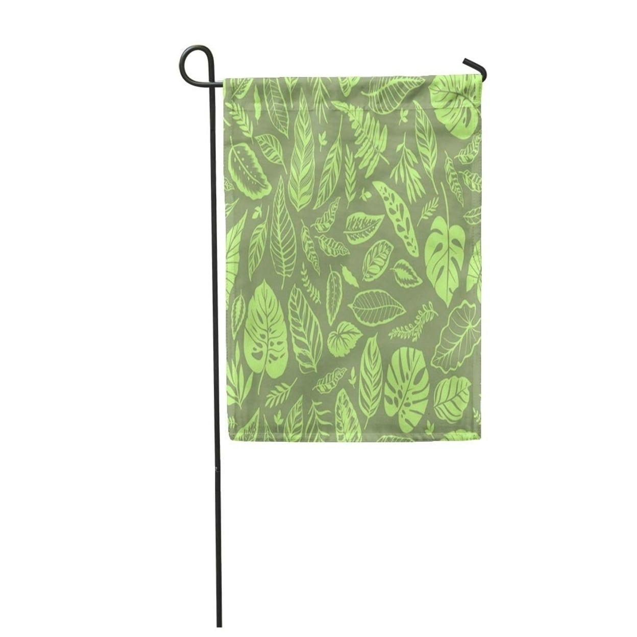 Shop Tropical Leaves Bright Jungle Pattern And Exotic Plant The Elegant Hawaiian Motifs Garden Flag Decorative Flag House On Sale Overstock 31377448 Use these free tropical motifs png #5870 for your personal projects or designs. overstock com
