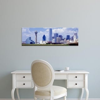 Easy Art Prints Panoramic Images's 'Dallas, Texas, USA' Premium Canvas Art