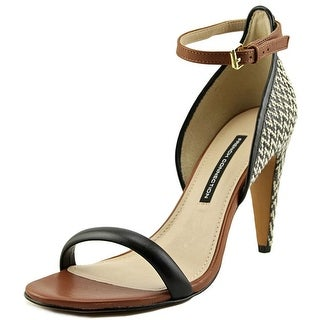 French Connection Nanette Open Toe Leather Sandals