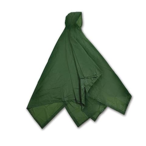 Stansport 967-od vinyl poncho,od green