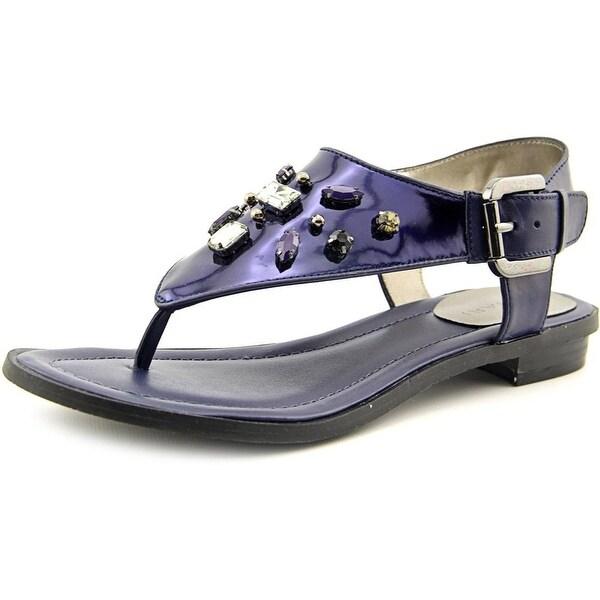Tahari Ashley   Open Toe Synthetic  Thong Sandal