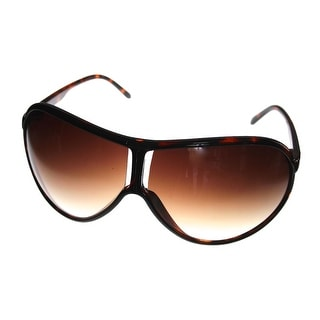 Kenneth Cole Reaction Womens Shield Tortoise Plastic Sunglass KC1199 52F - M