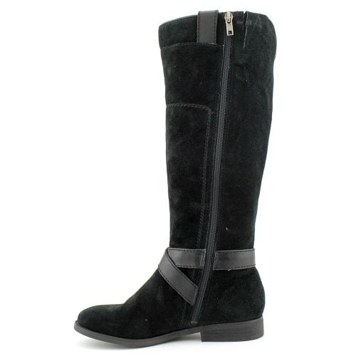 Marc Fisher Womens Artful Leather Round Toe Mid-Calf Fashion Boots