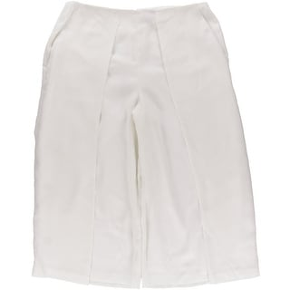 Vince Camuto Womens Pleated Lined Gaucho Pants - 14