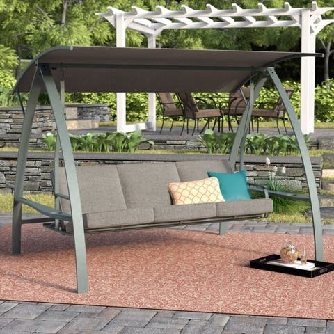 BestLiving 3-Seat Daybed Swing with Stand