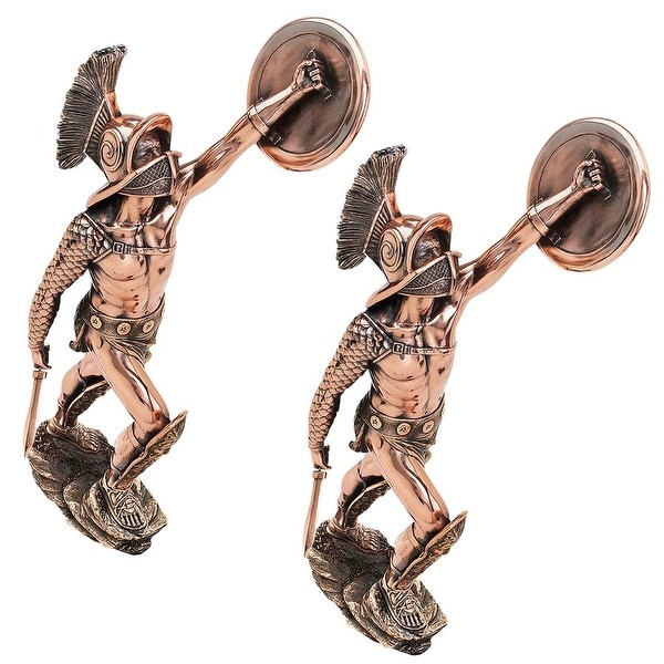 Design Toscano The Gladiator Sculpture: Set of Two