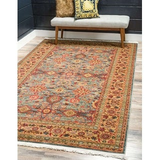 Link to Unique Loom Monroe Edinburgh Area Rug Similar Items in Transitional Rugs