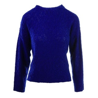 Alythea Womens Knit Crewneck Crop Sweater - XS