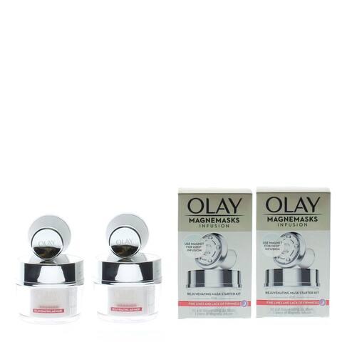 Olay Magnemasks Infusion Rejuvenating Mask Starter Kit 50g + 1pc of Magnetic Infuser (2 Pack)