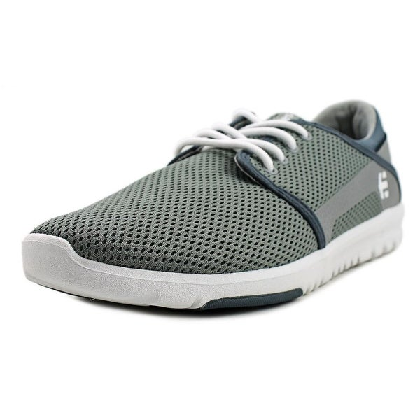 Etnies Scout Men Grey/White/Green Skateboarding Shoes