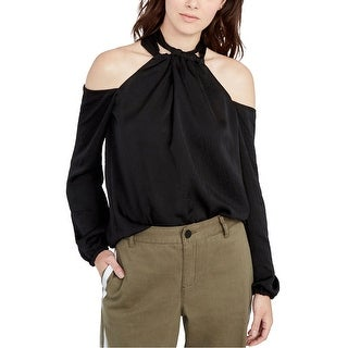 Link to Rachel Roy Womens Satin Tunic Blouse Similar Items in Tops
