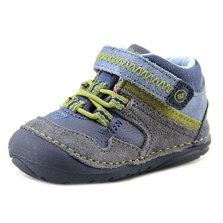 Stride Rite SRT SM Isaiah W Round Toe Suede Sneakers