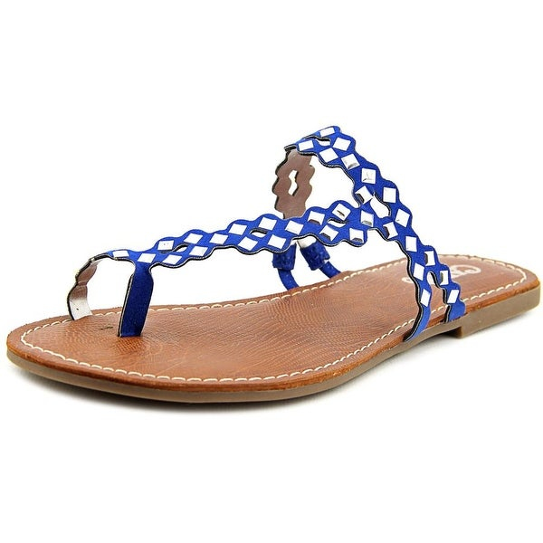 Carlos by Carlos Santana Shelby   Open Toe Synthetic  Thong Sandal
