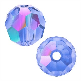 Link to Swarovski Crystal, 5000 Round Beads 8mm, 8 Pieces, Light Sapphire Shimmer Similar Items in Jewelry & Beading