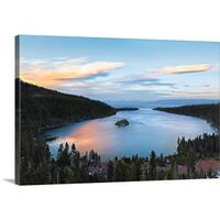 Premium Thick-Wrap Canvas entitled Lake Tahoe, California - Multi-color