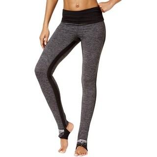 Gaiam Womens Avalon Yoga Legging OM Fit Heathered