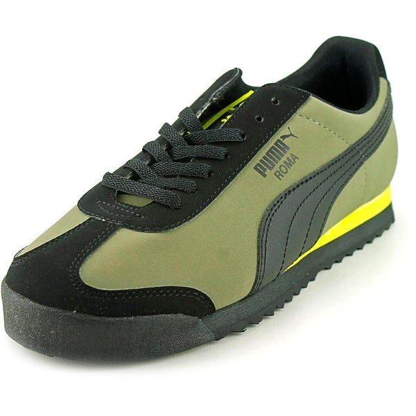 Puma Roma SL NBK Jr Youth Round Toe Synthetic Green Sneakers