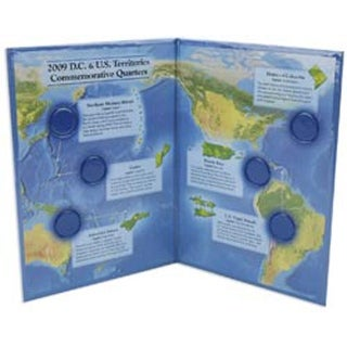 U.S. Territory & D.C. Quarter Color Folder-2009