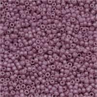 Toho Round Seed Beads 15/0 52 'Opaque Lavender' 8 Gram Tube