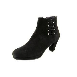 Vaneli Lavis Women  Round Toe Suede  Ankle Boot