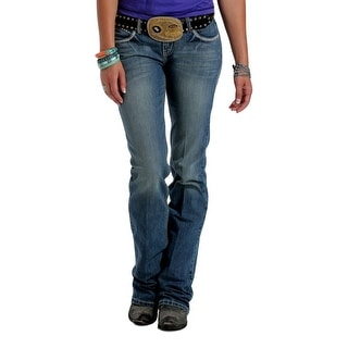 Cruel Girl Western Denim Jeans Women Blake Slim Tacking Med CB45554071