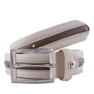 Renato Balestra Z086/35 Colorblock Leather Mens Belt