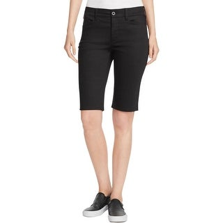 NYDJ Womens Christy Bermuda, Walking Shorts Lift Tuck Technology Flat Front