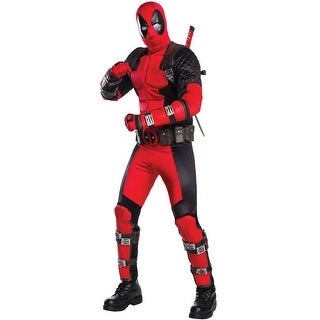 Rubies Deadpool Grand Heritage Adult Costume - Red (2 options available)