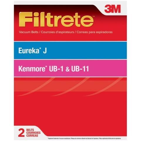 3M 67520 Filtrete Eureka J/Kenmore UB-1 / UB-11 Vacuum Belts