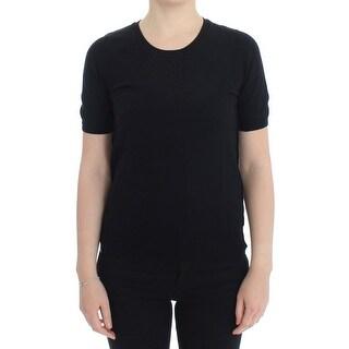 Dolce & Gabbana Dolce & Gabbana Black Crewneck Sweater T-shirt