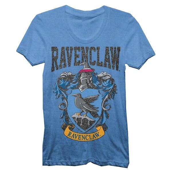 Harry Potter Ravenclaw House Juniors Blue T-shirt