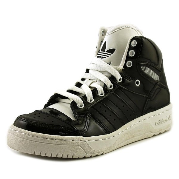 Adidas Attitude Logo Heart Round Toe Patent Leather Sneakers