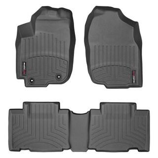 WeatherTech Toyota RAV4 2013+ Black Front & Rear Floor Mats FloorLiner 44510-1-2
