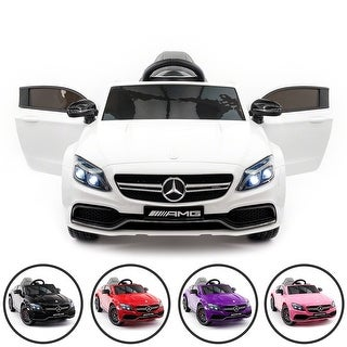 Link to Mercedes Benz C63S 12V Kids Ride-On Car with R/C Parental Remote Similar Items in Bicycles, Ride-On Toys & Scooters