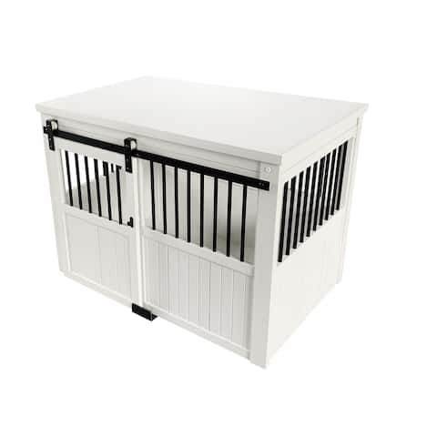 ECOFLEX® Homestead Sliding Barn Door Dog Crate