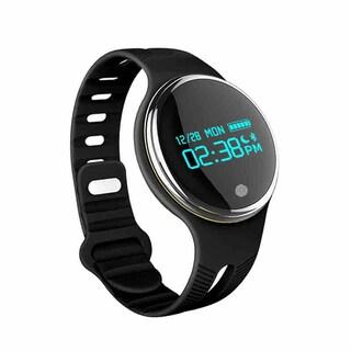 TechComm E07 IP67 Waterproof Bluetooth Smart Watch with Touch Screen (Option: Black)