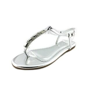 Nine West Shayne 4 Open Toe Synthetic Thong Sandal