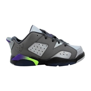 24186207b15e Shop Nike Air Jordan VI 6 Retro GP Dark Grey Ultraviolet-Wolf Grey-Ghost  Green 768884-008 Pre-School - Free Shipping Today - Overstock - 27993571