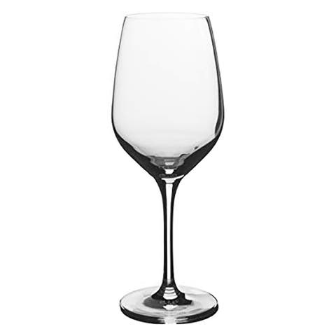 Stolzle Eclipse Crystal White Wine Glasses, 16.75 Ounces, Set of 6