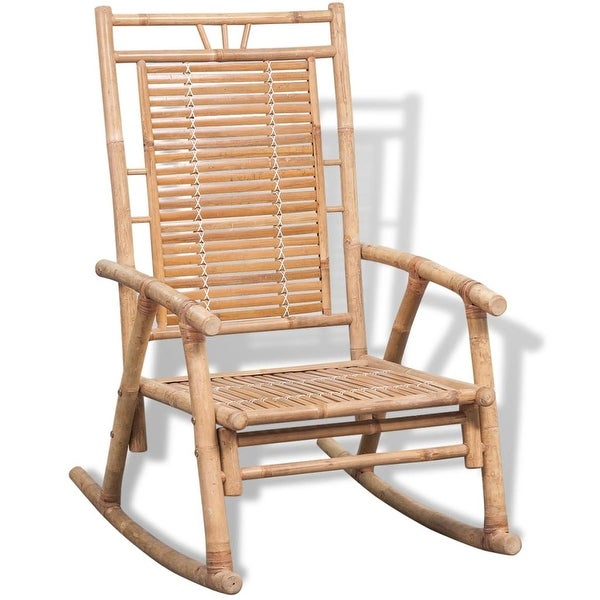 vidaXL Rocking Chair Bamboo