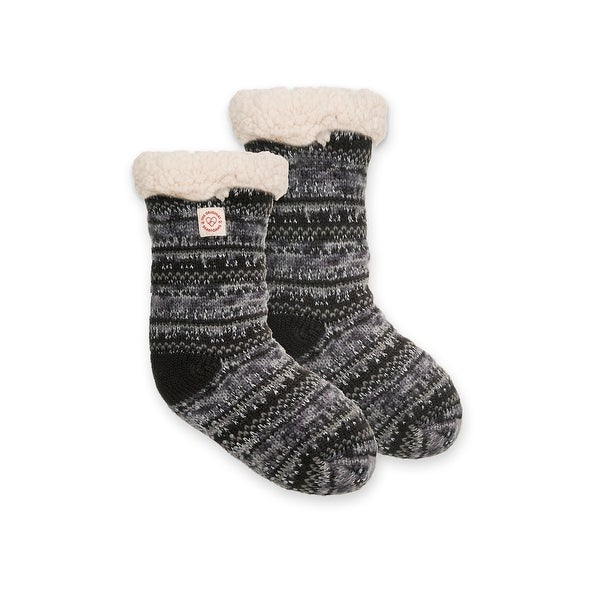 Dearfoams Women's Fairisle Plush Slipper Sock - Free Shipping On ...