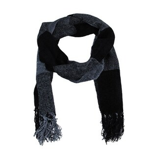 Black / Gray Large Check Fringed Scarf Block Fringed|https://ak1.ostkcdn.com/images/products/is/images/direct/8b09436113e22260d21d8195b07752733e51d6ce/Black---Gray-Large-Check-Fringed-Scarf-Block-Fringed.jpg?_ostk_perf_=percv&impolicy=medium