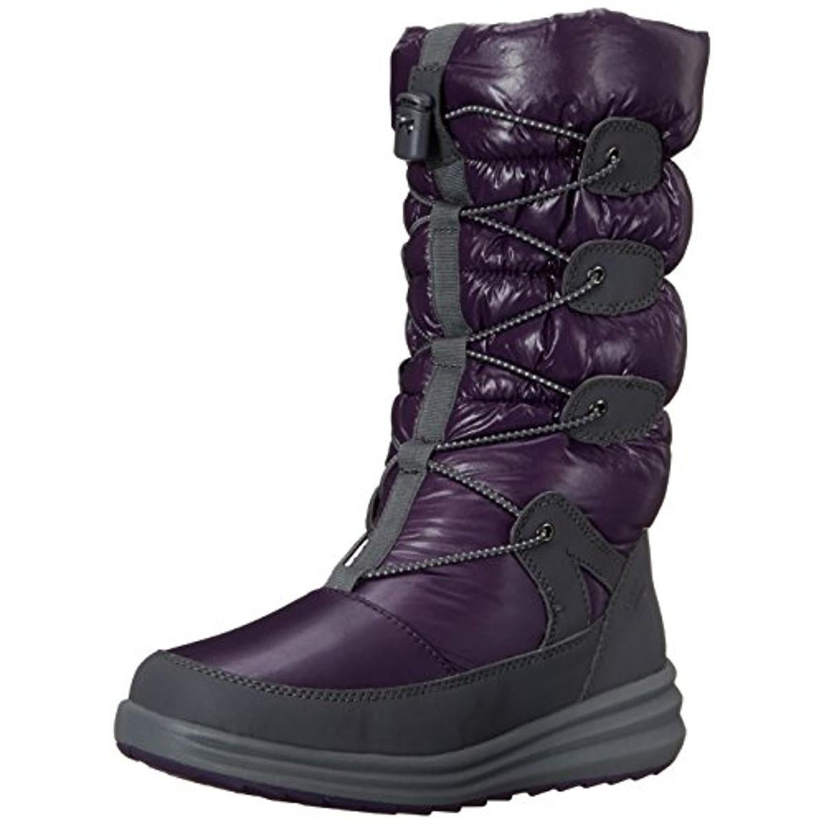 Cobb Hill Womens Brenda Snow Boots Quilted Faux Fur Lined - Thumbnail 0