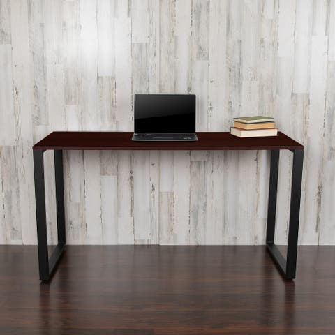 Commercial Grade 55-inch Industrial Style Office Desk