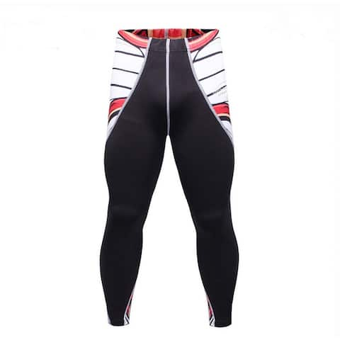 Men Workout Pants Quick-Dry Soft Baselayer Tights Compression Workout Pants