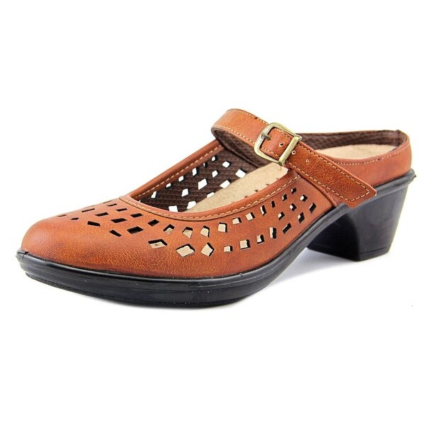 Easy Street Chicago Women Round Toe Synthetic Tan Mary Janes