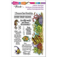 "Stampendous Perfectly Clear Stamps 7.25""X4.625""-Nautical Treasure"