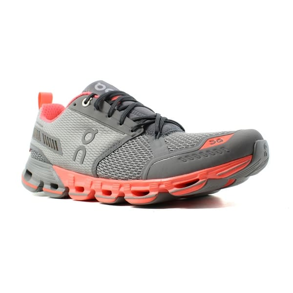 purchase cheap 69aba 9dc92 Shop On Cloud Womens Cloudflyer Gray Running Shoes Size 8.5 ...
