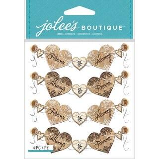 Jolee's Boutique Dimensional Stickers-Wedding Banner